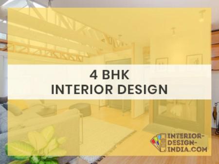 Best 4 BHK Interiors - Apartment Flat Interiors Companies in Delhi NCR